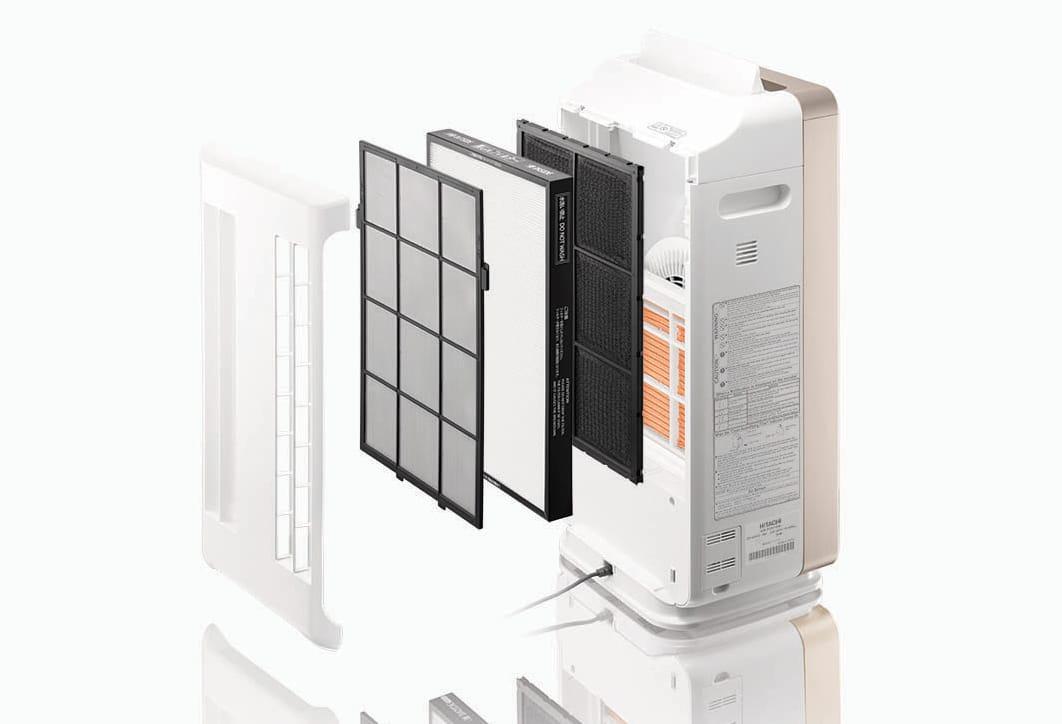 Hitachi EP-M70E-bo loc 4 giai doan