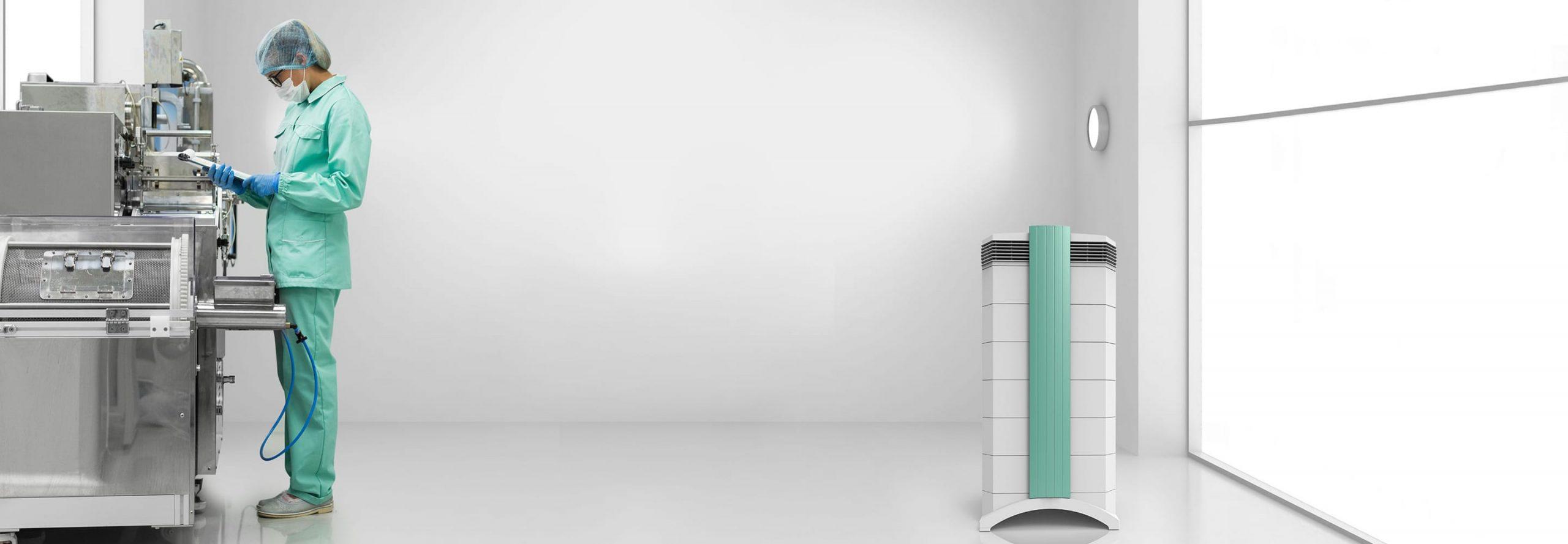 IQAir Cleanroom 100