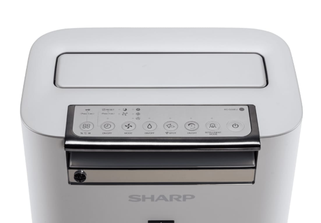 Sharp-KC-G50EV-W-mat truoc