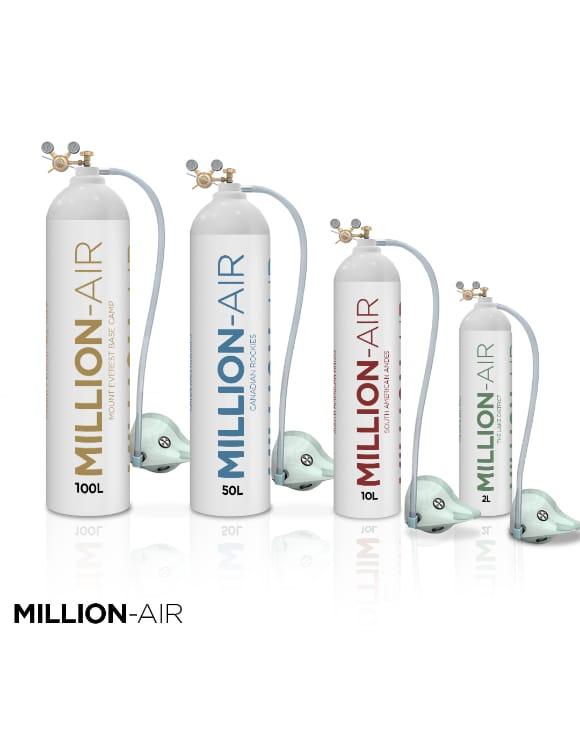 Khong khi sach dong chai Million-Air Oxygen 2