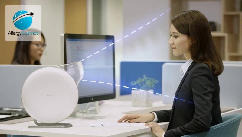 Máy lọc không khí cá nhân iqair atem desk