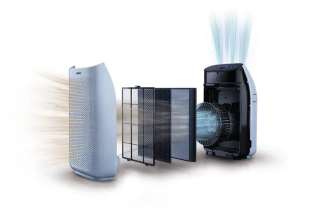 Philips AC1215:10 series 1000-bo loc True-HEPA