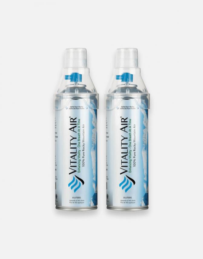 không khí sạch đóng chai Vitality Air